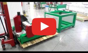 Разборка и упаковка фрезерного станка ТМ20 0906-СШД