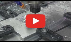 Тестовое изготовление детали из Д16Т, 4 мм за проход - станок ТМ20 0906