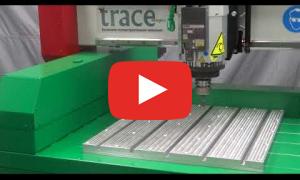Автоматическая смена инструмента на фрезерном станке с ЧПУ ТМ20 0605-СШД