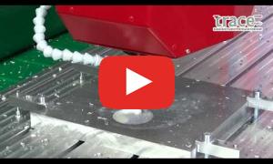 Скоростное фрезерование Д16Т на фрезерном станке с ЧПУ для металла ТМ26 1209