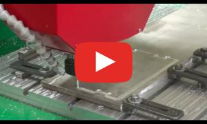 Фреза со сменной пластиной - Фрезеровка Д16Т - фрезерный станок по металлу ТМ20 0609